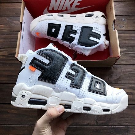 Кроссовки Nike Air More Uptempo (air, off, supreme)
