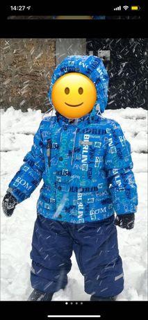 Зимний комбинезон на мальчика.