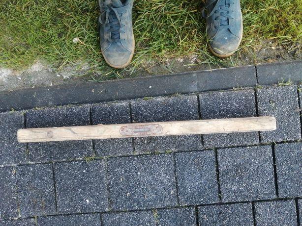 Poziomica drewniana zabytek