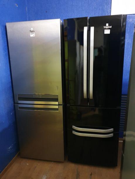 Сучасний холодильник б.у. із Європи/гарантія три_міс/доставка.