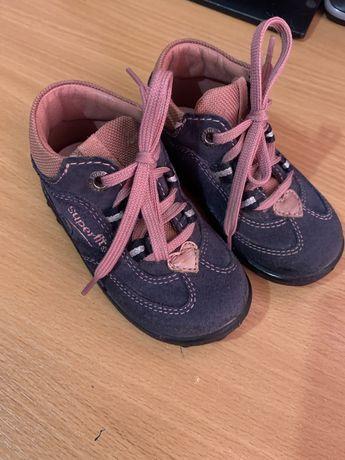 Замшевые кроссовочки ботиночки Superfit 21 р