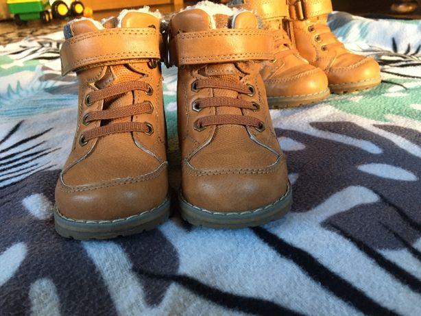 2 pary buty zimowe Cool Club Smyk 21 dla bliźniąt