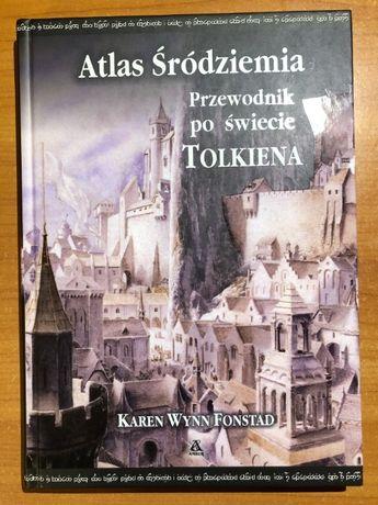 Atlas Śródziemia - Fonstad, Tolkien, Amber, twarda