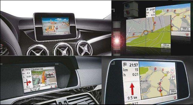 Mercedes mapas Europe 2019 V17.0 Becker GPS