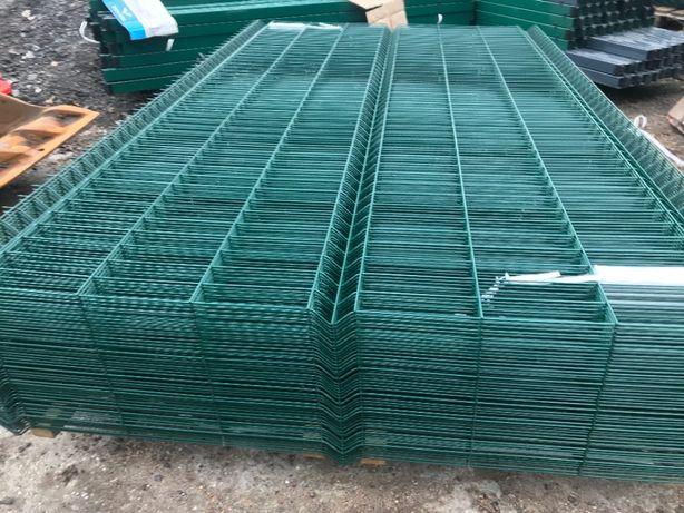 Panel ogrodzeniowy 3D ocynk+mal H-1,53-różne kolory - BYDGOSZCZ