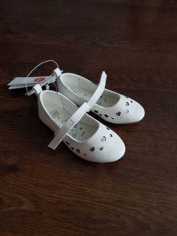 Nowe białe baleriny Cool Club r 28.