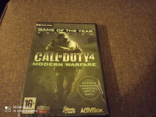 Call od Duty 4 Modern warfare na PC