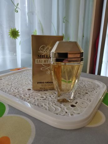 Туалетная вода парфюм  Lady Million Eau My Gold Paco Rabanne 80 мл
