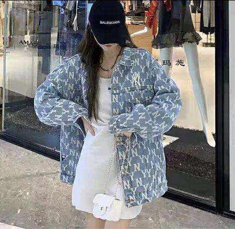 Джинсовая куртка new york zara