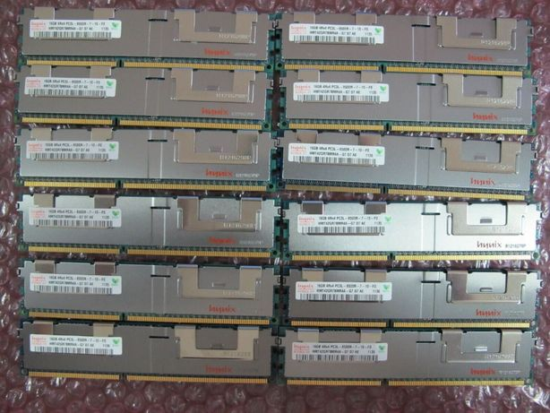 память серверная 16GB hynix HMT42GR7BMR4A-G7 4Rx4 PC3L-8500R DDR3 1066