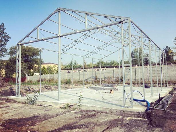 Konstrukcja hali namiotowej 10x20x4,5 ŁUKASIUK