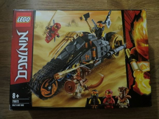 Конструктор 70672 Раллийный мотоцикл Коула LEGO NINJAGO Cole