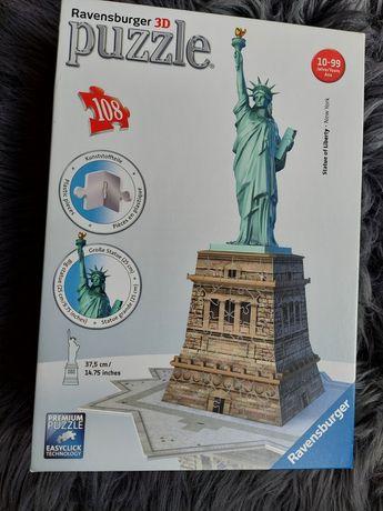 Puzzle 3D Statua Wolności Ravensburger