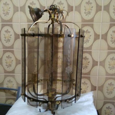 Candeeiro/Lanterna de teto, vintage
