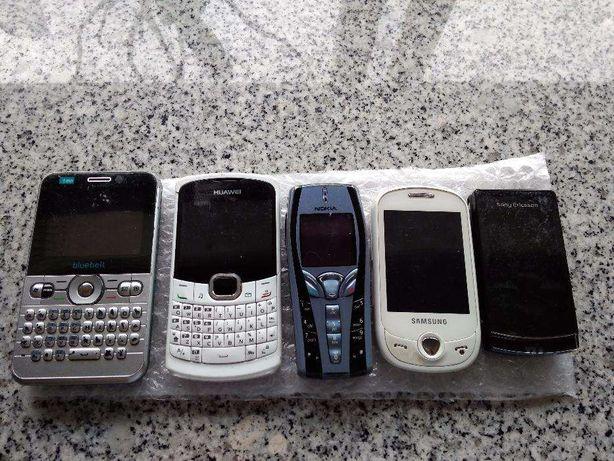 2 telemóveis para peças