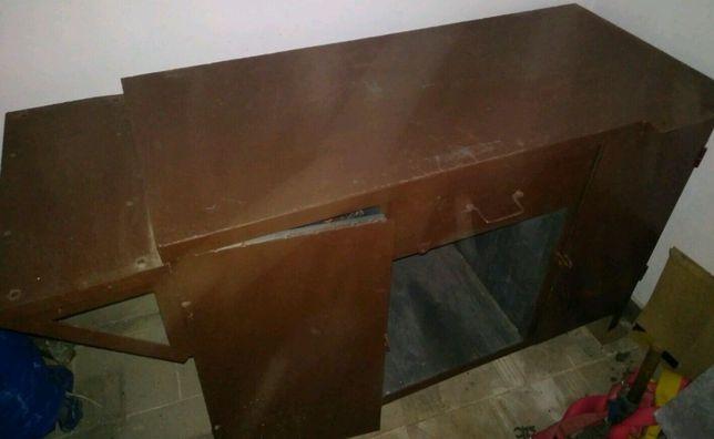 NOWY solidny metalowy stół ślusarski warsztatowy