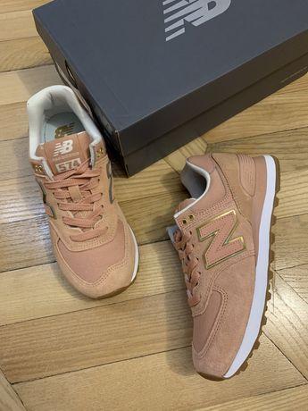 Оригинальные кроссовки New Balance ML574SOB