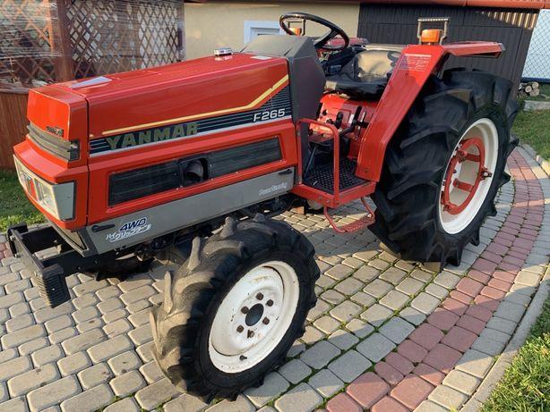 Traktor Yanmar F265 26,5 km, 4x4,wspomaganie, super stan iseki kubota