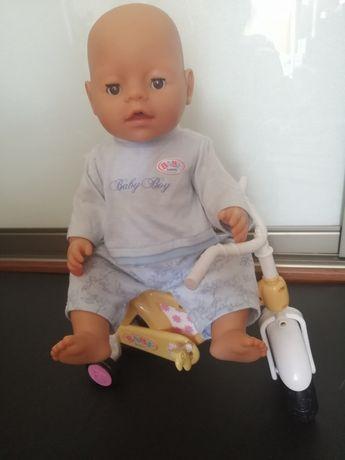 Кукла пупс анатомический мальчик реборн Baby Born Zapf Creation
