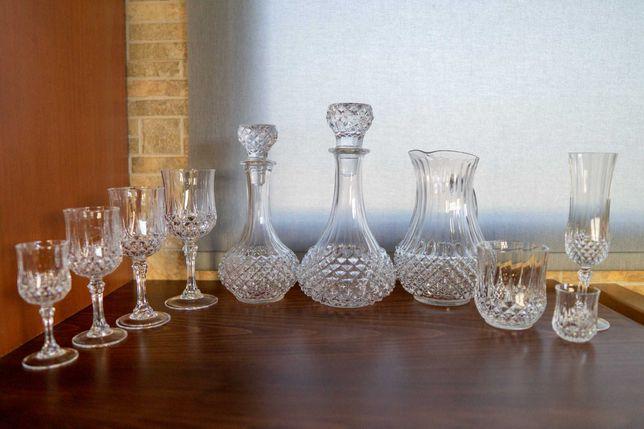 Conjunto de Copos Cristal D'Arques Longchamp