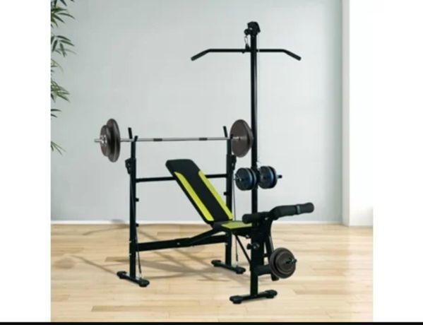 Banco de Musculação (Preto - Peso Máx: 200 Kg - NOVO!