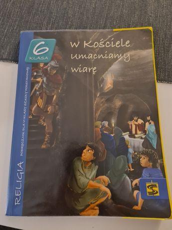 Książka do religii klasa 6