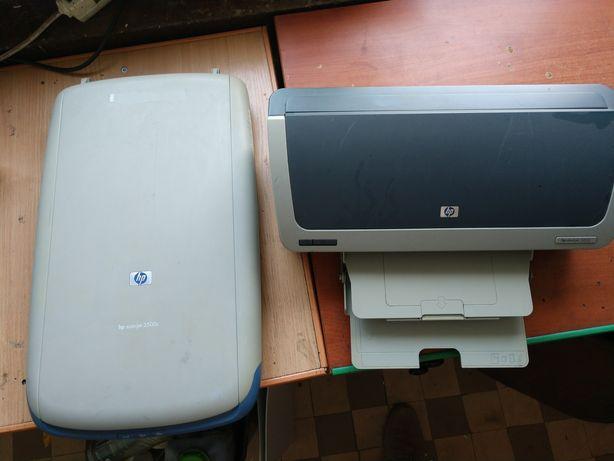 Продам сканер і принтер на запчастини