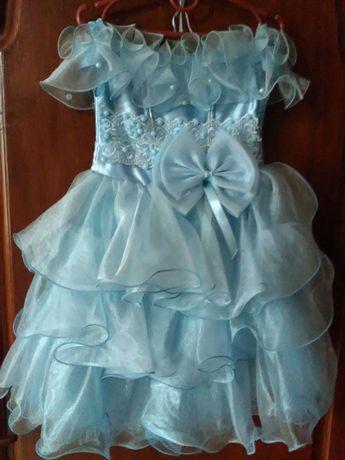 Продам платье нарядное для девочки, 1-3 года