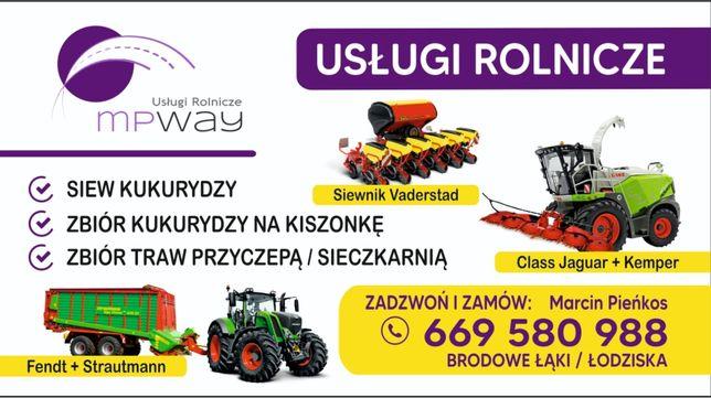 MPway - koszenie, zbiór kukurydzy