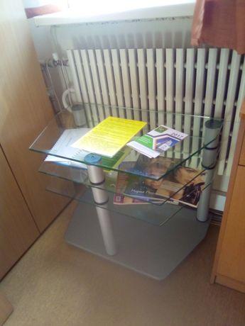 Продам стеклянную подставку под ТВ, можно как журнальный столик