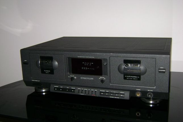 PHILIPS FC 910 Magnetofon deck dwukasetowy stereo hi-fi Wysyłka