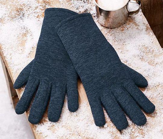 Теплі чоловічі рукавиці перчатки Tchibo