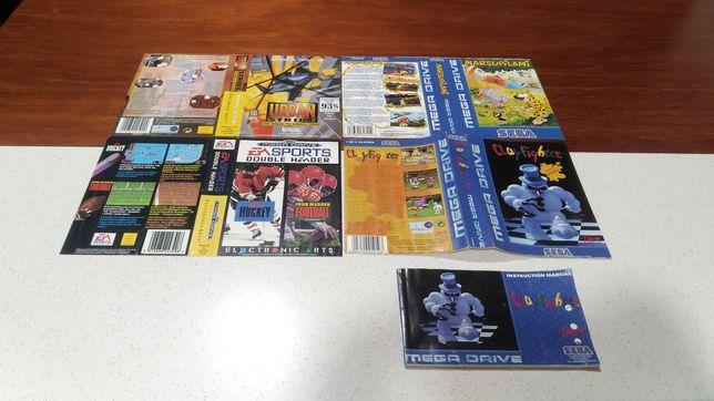 Capas Jogos Mega Drive