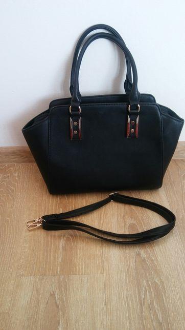 Ideał duża czarna torba + listonoszka new look gratis