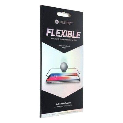 "Película Full Cover Bestsuit Flexible Hybrid Glass Apple Iphone 12 Mini 5,4"" Preto"