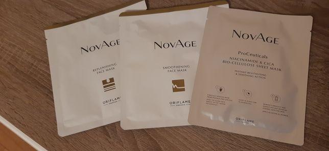 Zestaw maseczek do twarzy NovAge Oriflame