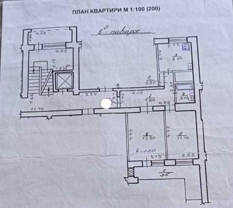 Продаж 2-кім квартири по вул. Ожинова Рясне 1 , чешка, цегла.