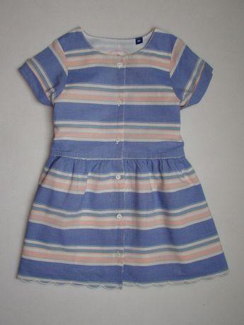 Tom Tailor oryginalna modna sukienka lato 12-18m/86cm