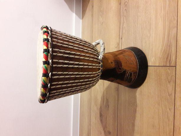 Bęben djambe ręcznie robiony