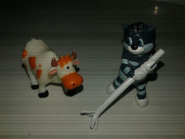 Киндеры ландрин простоквашино кот матроскин корова