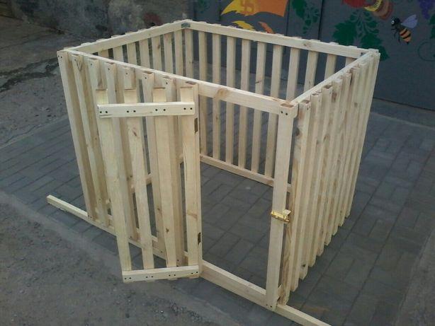 Вольер деревянный для квартиры или дома.