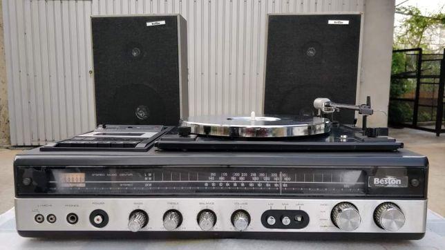 Gira-Discos Beston c/colunas