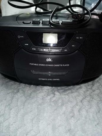 Radio  firmy OK z funkcją radia, USB, mp3, cd-r/ rw NOWE