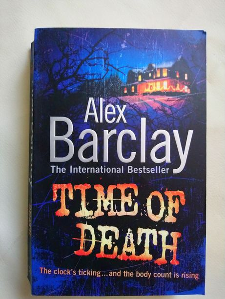 Книга на англійській мові Alex Barclay Time of death