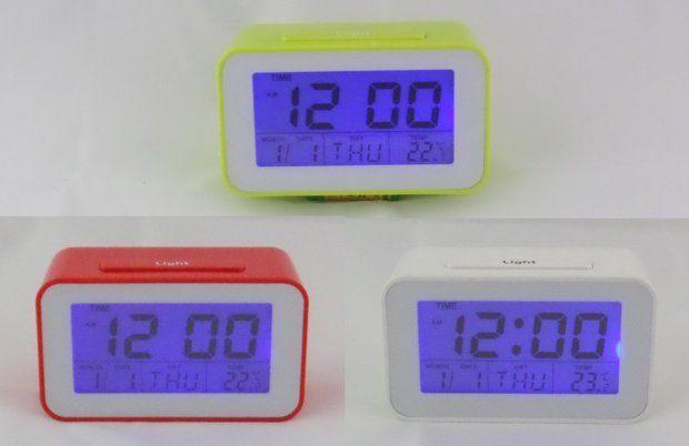 Cyfrowy zegarek, termometr, budzik, timer - 3 kolory - NOWE