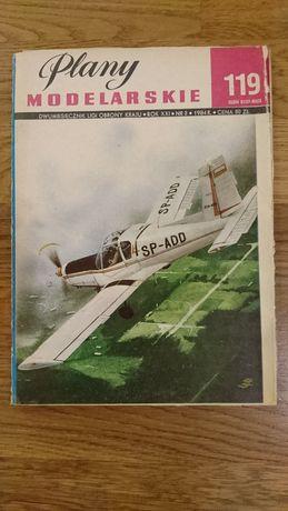 Zlin-42M, Plany Modelarskie
