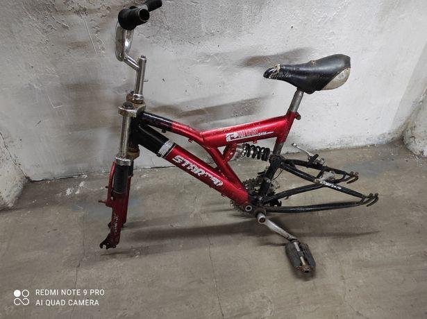 Рама от детского, спортивного, горного велосипеда