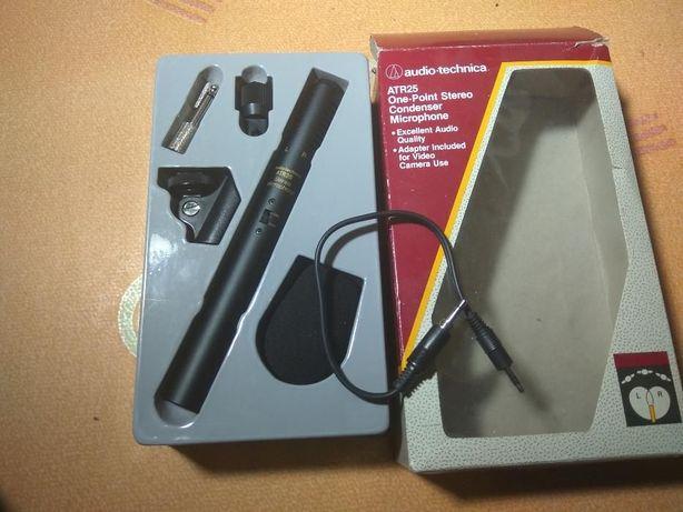 Конденсаторный стерео микрофон Audio-Technica ATR25 для DSLR видео кам