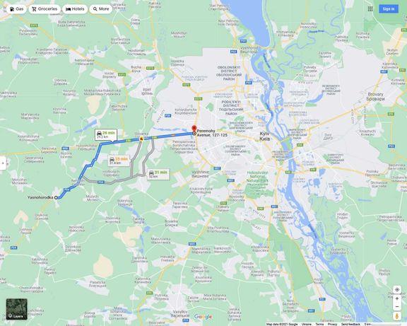 Участок 15 соток Ясногородка Макаровский 30км от Киева Страусиная ферм