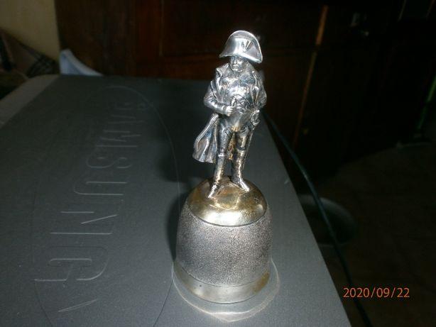 Рюмка Наполеон серебро с позолотой